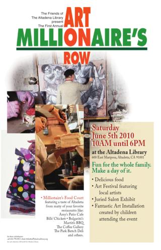 Art On Millionaire S Row Family Festival The Library Tomorrow