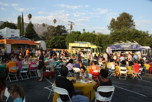 Fancy Food Truck Friday Seen Here From September 2011 Will Return To The Websters Parking Lot Next Week