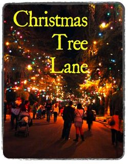 Next Week Christmas Tree Lane Light S On Dec 8 6 Pm Altadenablog