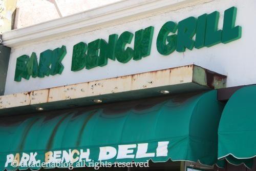 Park Bench Grill Not The Same Deli Altadenablog