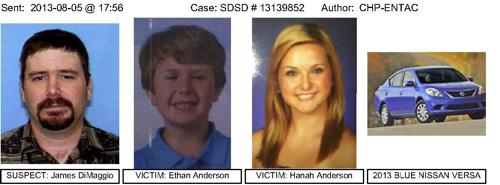Chp Calls Amber Alert In San Diego Abduction Altadenablog